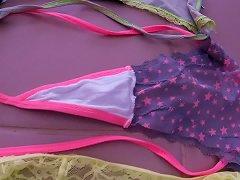 Step Daughters Used Holiday Panties