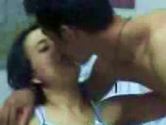 Suckling And Playing With Perky Tits Of Sexy Malay Teen