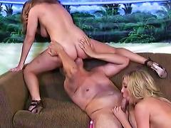 Sexy Teen Enjoys Older Hunk