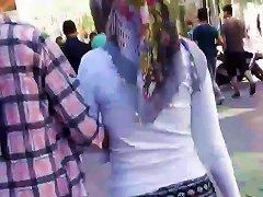 Hijab Turkish Arab Ass Walking 2