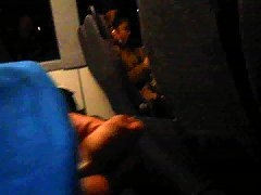Playing My Dick In Public Bus Near A Teen