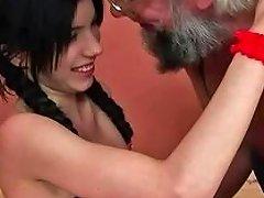 Grandpa Fucks Pretty Teen Girl