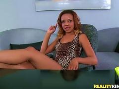 Lusty Ebony Teen Alea Wants To Try Herself In Porn