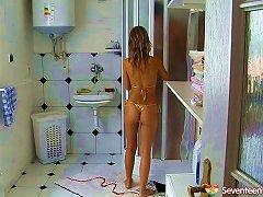 He Screws The Bikini Teen Before She Hops In The Shower