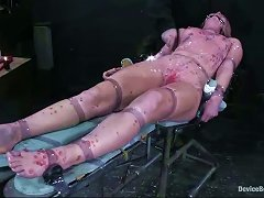 Candle Wax Torture And More Bdsm Stuff For Blonde Ami Emerson