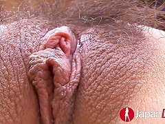 Slim Asian Chick With Ball Gag In Her Mouth Gets Toyed And Fingered
