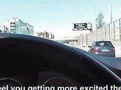 Slutty Hitchhiker Teen Foxy Public Fuck