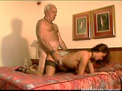 Beautiful Teen's Nailed By A Horny Old Man