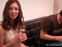Fascinating Asian MILF Minori Hatsune Smacked By A Horny Stud