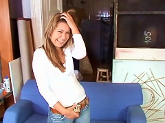 Pretty Cutie Tanja Is Getting Dick In Her Wide Mouth