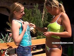 Hotties Outdoors Getting Naked And Getting Each Other Off