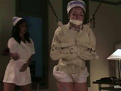 Isis Love And Sister Dee Play Bdsm Games In A Hospital Ward