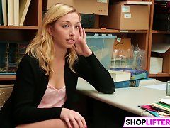 Shoplifter Zoe Parker Gets In Trouble Wiith The Lp Officer