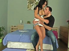 Amazing And Sexy Aida Sweet In The Hands Of Experienced Macho James Brossman