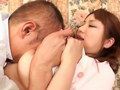 Foreplay With Cute Busty Japanese Teen