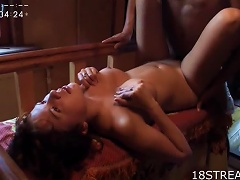 Passionate Sex With The Horny Teen  And Nasty And Vitol