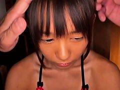 Petite Japanese Teen Plowed Roughly