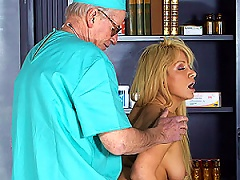 A Very Horny Teenager Loves Sucking Her Doctors Stiff Cock