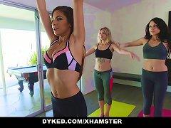 Dyked - Yoga Babe Gropes Innocent Teens