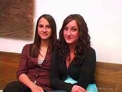 Gorgeuos Teens Make Your Day With A Hot Lesbian Scene