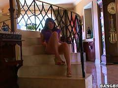 Redhead Teen Shows Off Her Ass Before Jerking Her Boo In Pov