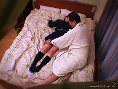 Sexy Japanese Chick, Haruka, Gets Fondled And Fucked Indoors