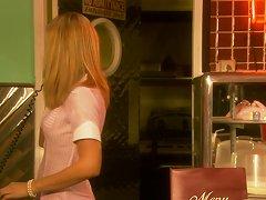 Bar Owner Screws His Maid Hard At The Counter