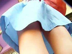 Upskirt On No Panties Girl Vr88