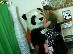 Fuck Me With Your Strap On Mr. Panda