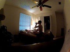 Brunette Teen Getting Knocked  Up In Bedroom