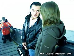 Teen Couple Gives You Something To Jerk Off To