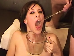Humiliated Brunette Gets Pissed By Her Ex Boyfriends