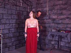 Chained Teenager Whipped