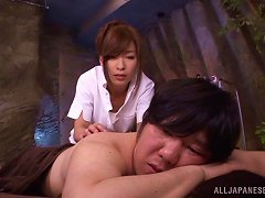 Cock-riding Action With Hot Japanese MILF Kaho Kasumi