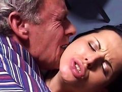 Young Brunette Fucked In Jail