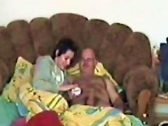 Young Brunette Polish Neighbor Chick Rides My Big Old Cock Like A Cowgirl