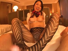 Teen In Sexy Stockings Gets  Humping Action