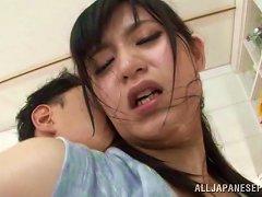 Arousing Japanese Milf Enjoying Rough Hardcore Sex