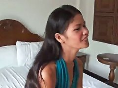 Stunning Filipina Teen Is Fucked Raw And Creampied By