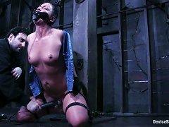 Sadistic Bdsm Master Treats His Slave Like A Sex Toy!
