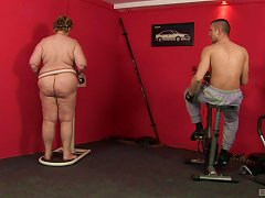 Fat Lady Finally Gets The Drilling That She Dreams About Every Night