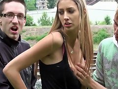 Kitty Jane Teen With Big Tits Public Group Orgy