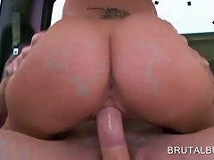 Naked Teen Slut Riding Big Boner In The Sex Bus