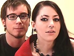 Sex With His Pierced Punk Girlfriend Is Passionate