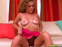 Sexy Teen Taylor Dare Milking A Big Rod