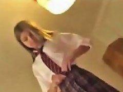 Hot Blonde Teen Fucked In Her Cute Schoolgirl Outfit