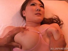 Dainty Japanese Babe Screaming In Ecstasy As She Gets Fingered
