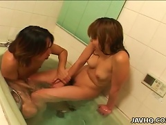 Japanese Teen  And Gets Hot  Uncensored