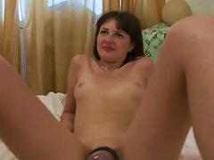 Filthy Dark Haired Chick Had Dirty Sex With Her Dude Using Pussy Pump