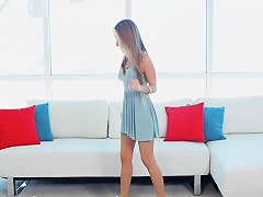 Myveryfirsttime Flexible Cheerleader Lily Ford First